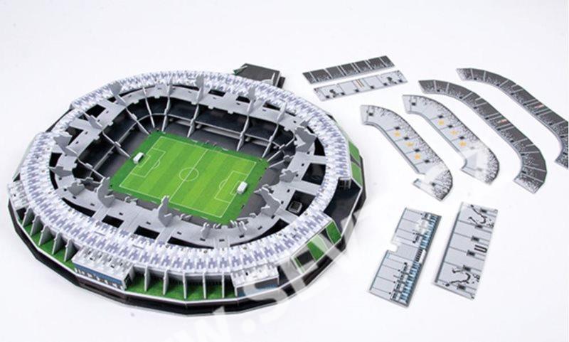 Puzzle 3D Nanostad Italy - Juve Stadium fotbalový stadion Juventus ... 615289ac8fa