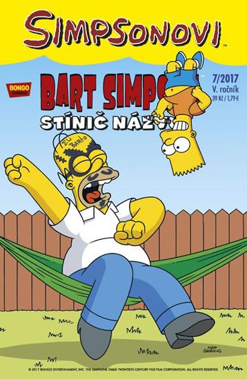 Simpsonovi - Bart Simpson 7/2017 - Stínič názvu - Groening Matt