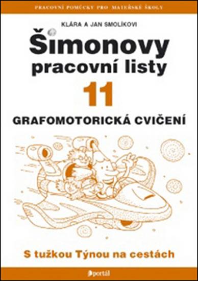 ŠPL 11 - Grafomotorická cvičení - Smolíkovi Klára a Jan