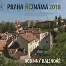 Praha neznámá 2018 - Rodinný kalendář