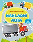 Nákladní automobily -  Samolepková knížka