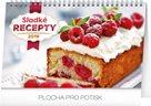 Kalendář stolní 2019  - Sladké recepty, 23,1 x 14,5 cm