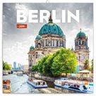 Kalendář poznámkový 2019 - Berlín, 30 x 30 cm