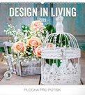 Kalendář nástěnný 2019 - Design in Living, 48 x 46 cm