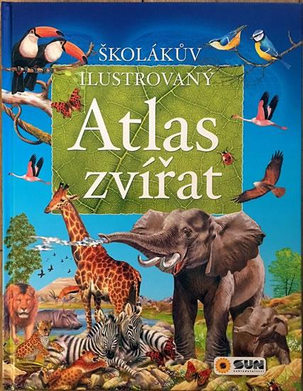 Školákův ilustrovaný atlas zvířat - neuveden, Sleva 15%
