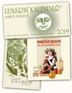 Kalendář 2019 - Lunární + Babiččiny recepty na přirozenější život + Dvanáctý rok s Měsícem