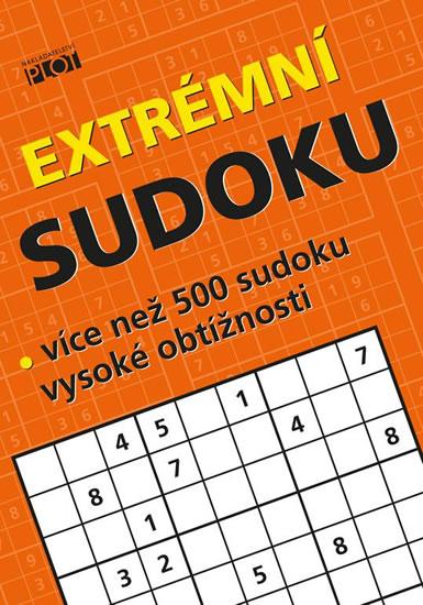 Extrémní sudoku - Více než 500 sudoku nejvyšší obtížnosti - Sýkora Petr