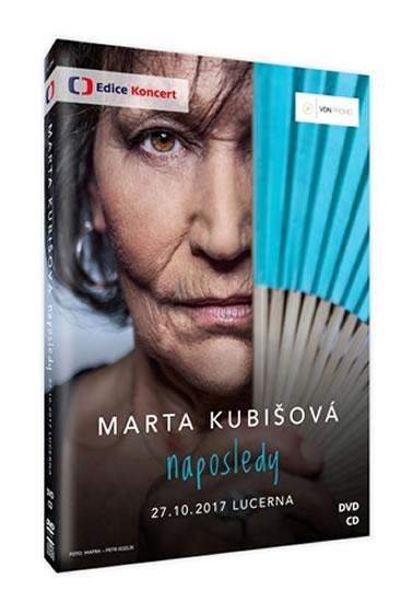 Marta Kubišová Naposledy - DVD + CD - Kubišová Marta