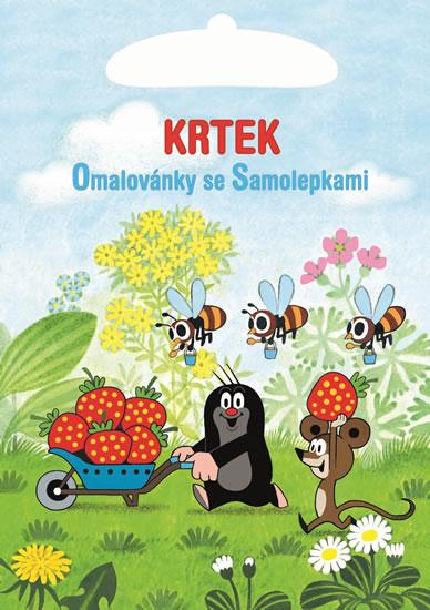 Krtek - Omalovánky A5 se samolepkami - Miler Zdeněk
