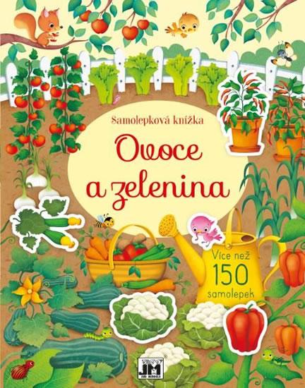 Ovoce a zelenina - Samolepková knížka - neuveden