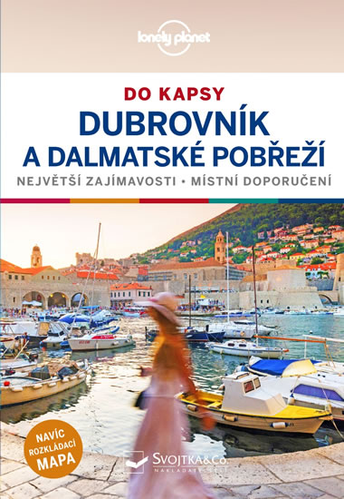 Dubrovník a dalmátské pobreží do kapsy - Lonely Planet - Dragicevich Peter