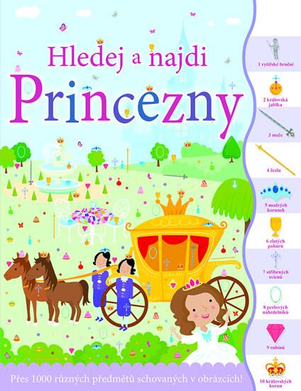 Princezny - Hledej a najdi - neuveden