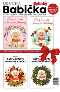 Moravská babička - dárkové balení 4 knížky