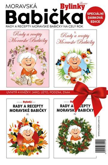 Moravská babička - dárkové balení 4 knížky - neuveden