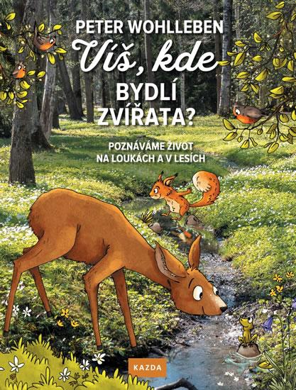 Víš, kde bydlí zvířata? - Poznáváme život na loukách a v lesích - Wohlleben Peter