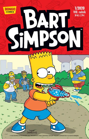 Simpsonovi - Bart Simpson 1/2020 - kolektiv autorů