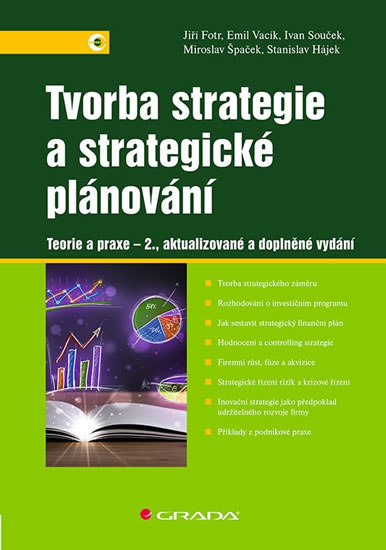 Tvorba strategie a strategické plánování - Teorie a praxe - Fotr Jiří