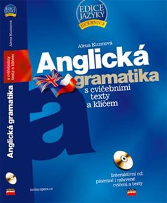 Anglická gramatika s cvičebními texty a klíčem + CD