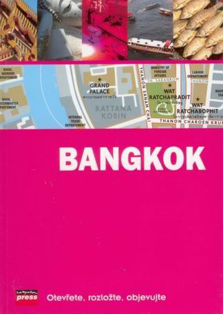 Bangkok - mapový průvodce /Thajsko/ - 12x17 cm