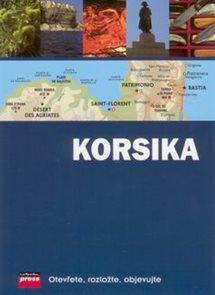 Korsika - průvodce s mapou