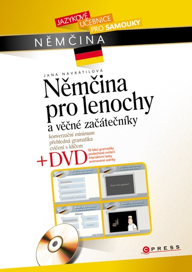 Němčina pro lenochy a věčné začátečníky + DVD - Navrátilová Jana - A5