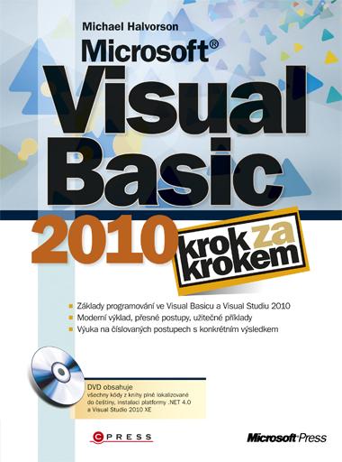 Visual Basic 2010 krok za krokem + DVD /1 ks/ - Halvorson Michael - 167x225 mm, brožovaná