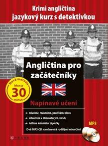 Angličtina pro začátečníky + 2CD - jazykový kurz s detektivkou