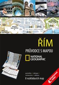 Řím - průvodce s mapou - 4.vydání /Itálie/ - 12x17 cm