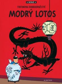 Tintin Modrý lotos