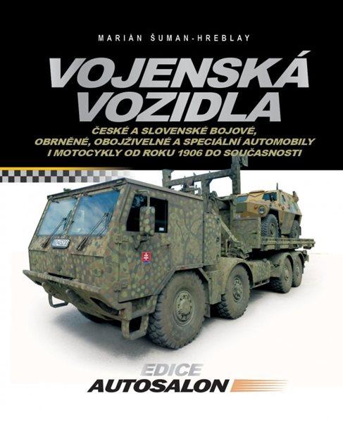 Vojenská vozidla - Marián Šuman-Hreblay - 19x24