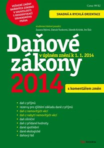 Daňové zákony 2014 s komentářem změn