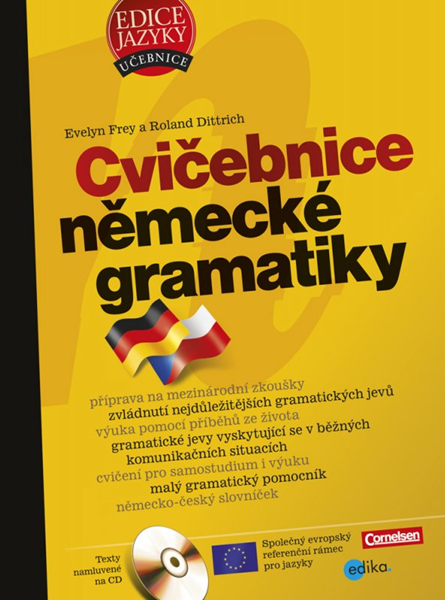Cvičebnice německé gramatiky - Evelyn Frey, Roland Dittrich - 17x24 cm