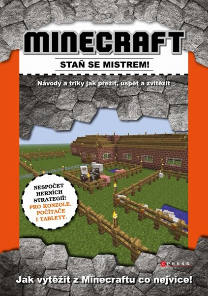 Minecraft - staň se mistrem! - 21x30, Sleva 16%
