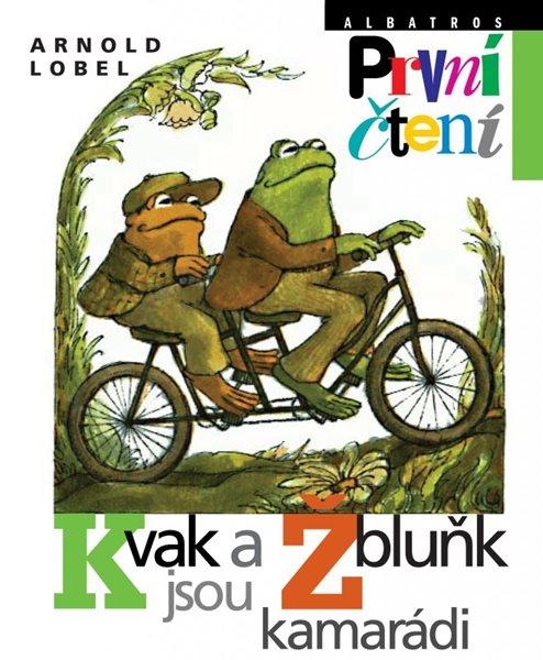 Kvak a Žbluňk jsou kamarádi (edice První čtení) - Arnold Lobel - 16x20