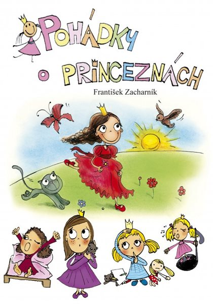Pohádky o princeznách - František Zacharník - 15x21, Sleva 10%