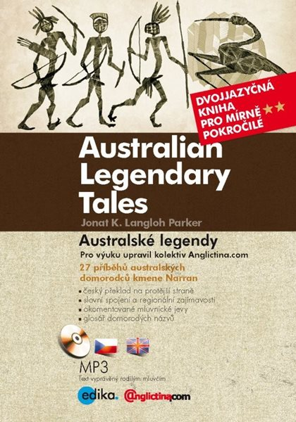 Australské legendy / Australian Legendary Tales + CD - 15x21