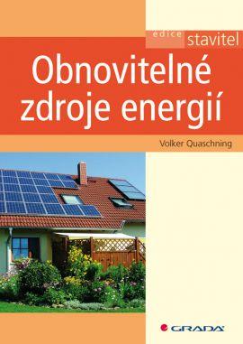 Obnovitelné zdroje energií - Quaschning Volker - 170x240 mm, brožovaná