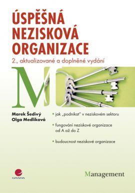 Úspěšná nezisková organizace - Šedivý Marek, Medlíková Olga - 17x24 cm
