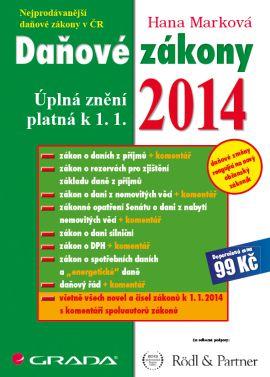 Daňové zákony 2014 - Marková Hana - 21x29