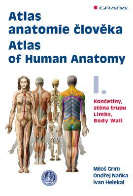 Atlas anatomie člověka I. - kolektiv autorů - 21x29