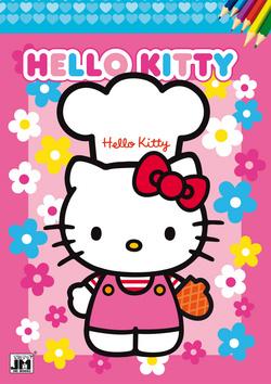 Omalovánka Hello Kitty - 21x30