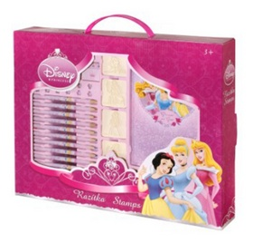 Disney Princezny - razítka v kufříku