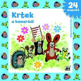 Magnetická knížka Krtek a kamarádi