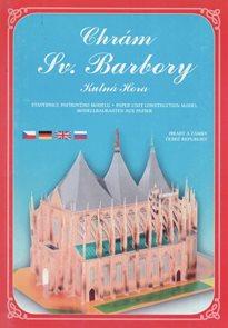 Chrám Sv. Barbory Kutná Hora - Stavebnice papírového modelu