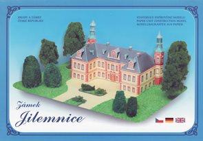 Zámek Jilemnice - Stavebnice papírového modelu