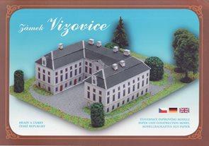 Zámek Vizovice - Stavebnice papírového modelu