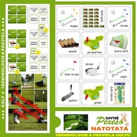 Pexeso Terminologie a pravidla golfu