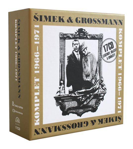 Komplet Šimek a Grossmann 1966 - 1971 17 CD - 13×14
