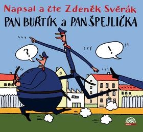 CD Pan Buřtík a pan Špejlička - neuveden - 13x14
