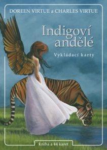Indigoví andělé kniha a 44 karet